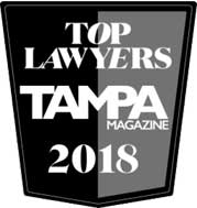 Top Lawyers Tampa Magazine 2018