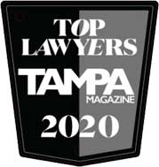 Top Lawyers Tampa Magazine 2020